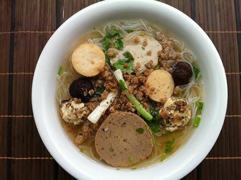 Cách nấu món Bún Mọc Chay cực ngon – Ẩm Thực Việt Nam