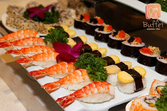 Lễ hội ẩm thực miền Trung tại Hoàng Yến Buffet