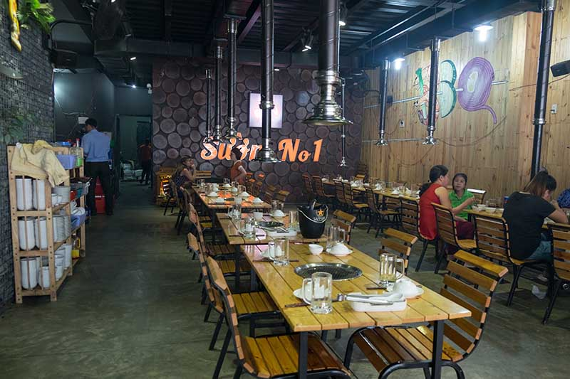 Buffet thịt, hải sản cao cấp nướng thả ga tại Nhà hàng Number 1