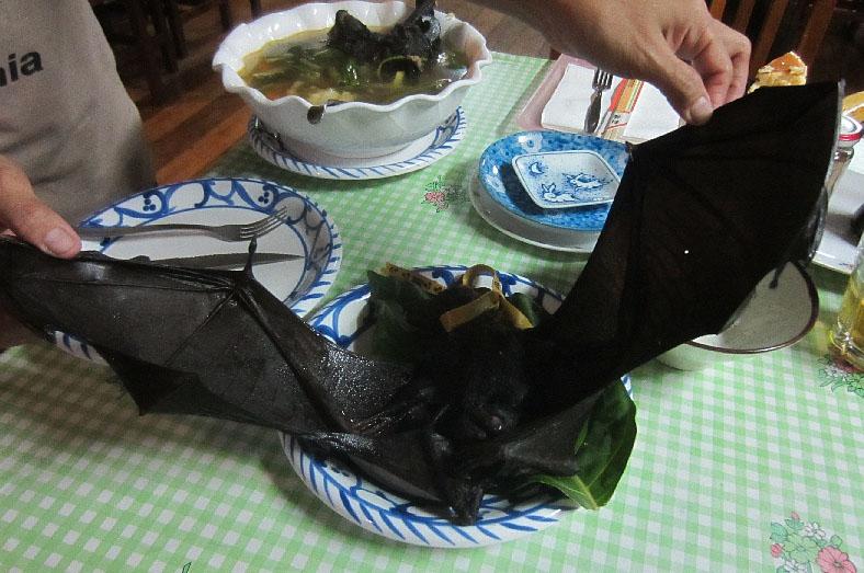 Phát khiếp với đặc sản súp dơi nguyên con - 6