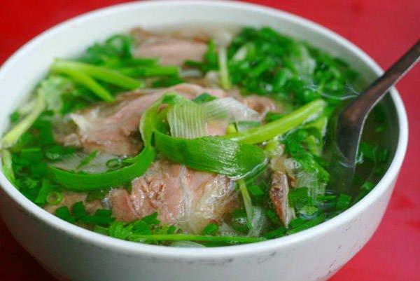 Đặc sản Phở Hà Nội.