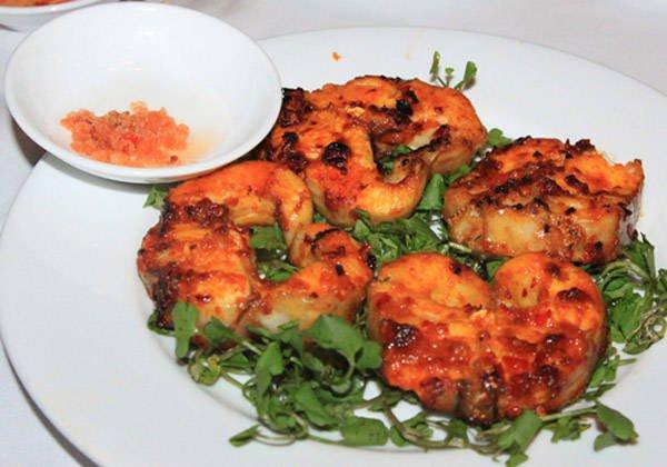 Cá lăng nướng than Đắk Nông.