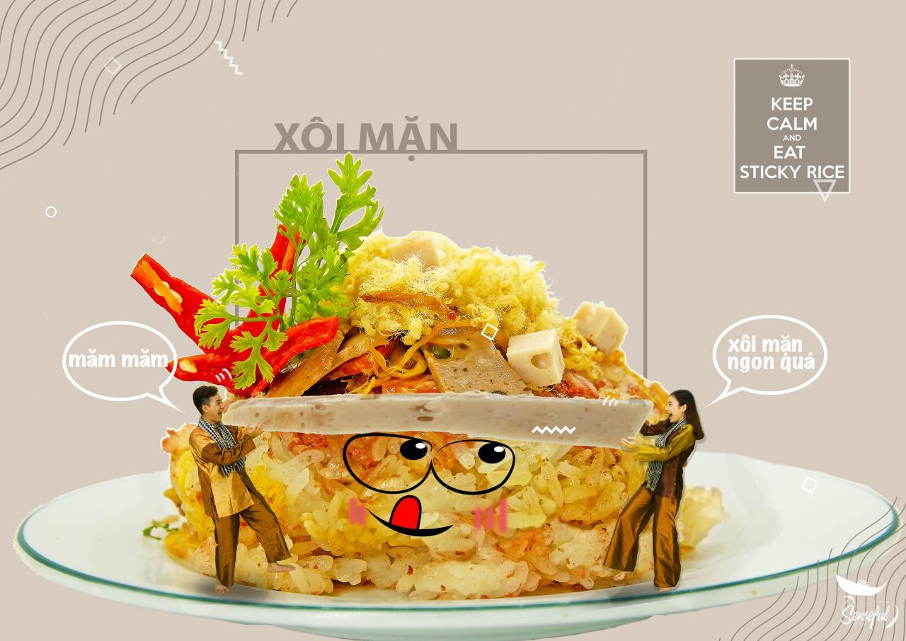 """Đời sống - """"Đã mắt"""" với bộ ảnh món ăn Việt sáng tạo của Đại biểu Tàu thanh niên Đông Nam Á (Hình 4)."""