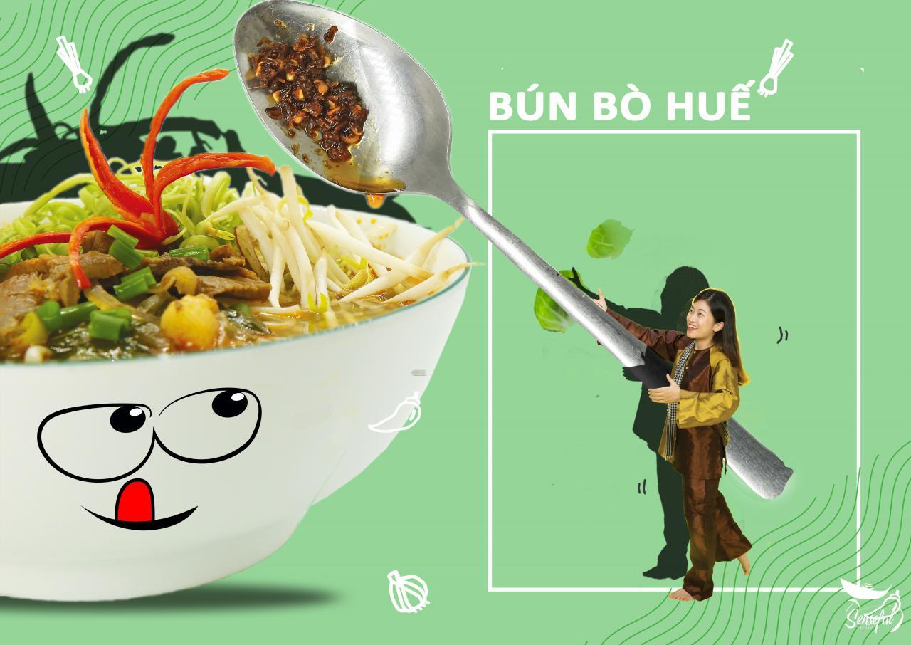 """Đời sống - """"Đã mắt"""" với bộ ảnh món ăn Việt sáng tạo của Đại biểu Tàu thanh niên Đông Nam Á (Hình 6)."""