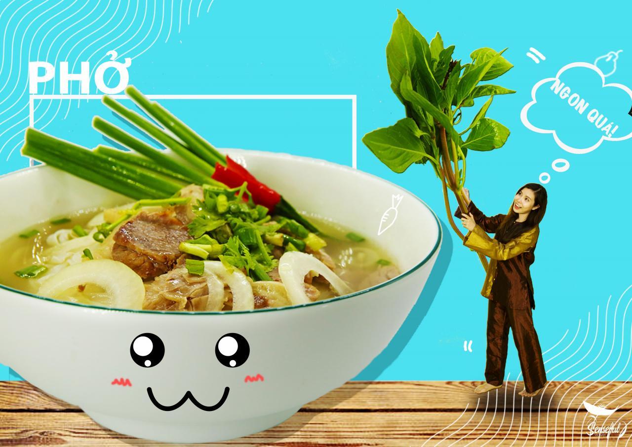 """Đời sống - """"Đã mắt"""" với bộ ảnh món ăn Việt sáng tạo của Đại biểu Tàu thanh niên Đông Nam Á (Hình 10)."""