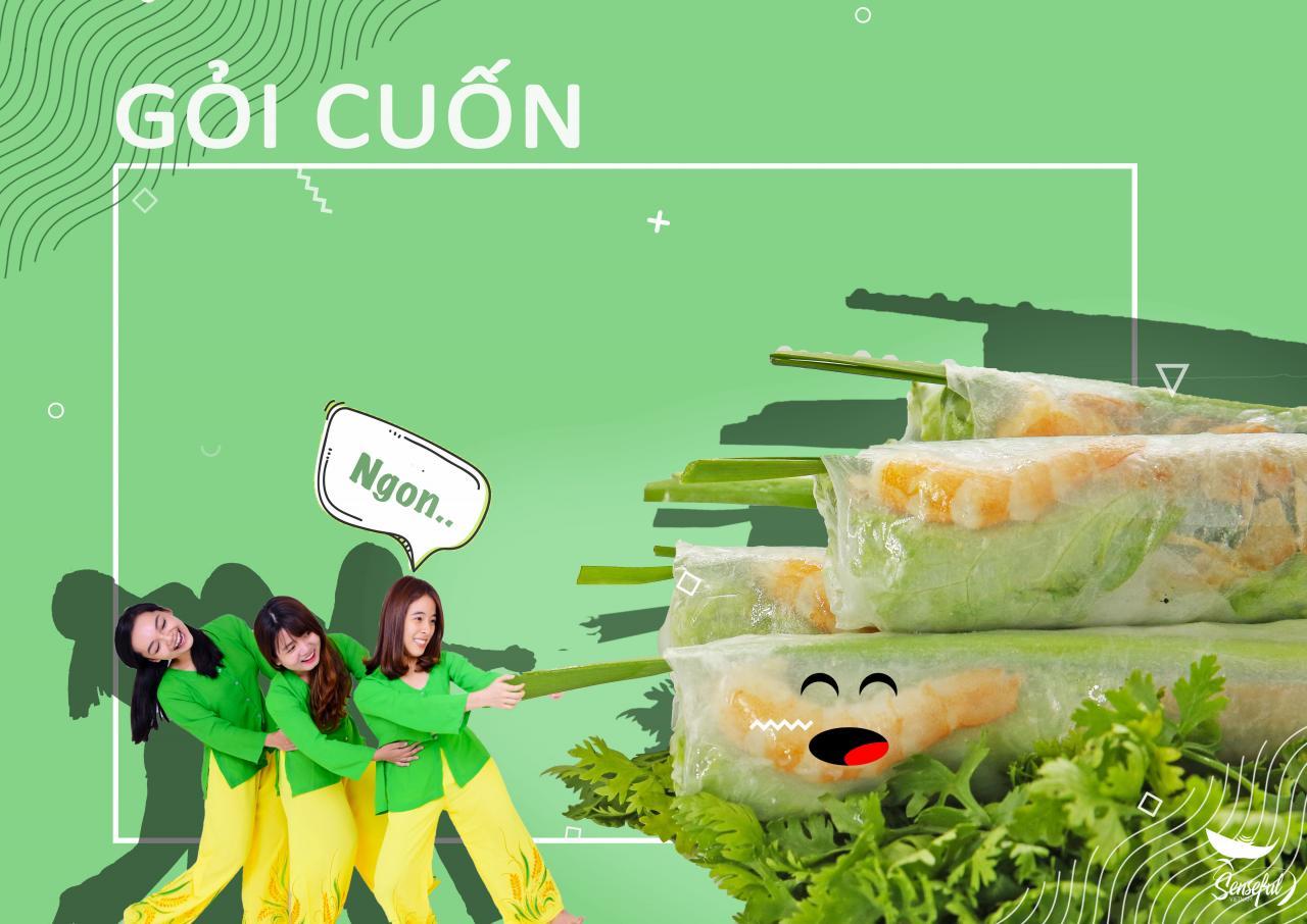 """Đời sống - """"Đã mắt"""" với bộ ảnh món ăn Việt sáng tạo của Đại biểu Tàu thanh niên Đông Nam Á (Hình 9)."""
