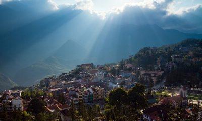 Sapa nhìn từ trên cao. Ảnh:Shutterstock.