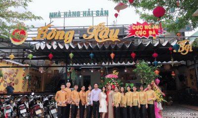 Á hậu Nguyễn Vân Anh, nhà hàng Bông Hậu, Nhà hàng hải sản Bông Hậu