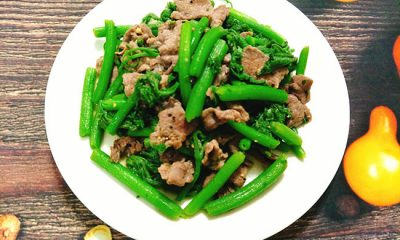 Bật mí công thức làm rau bí xào thịt bò chuẩn vị, không bị xơ và dai - 1