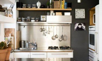 Chẳng còn thấy chật chội vì căn bếp quá nhỏ nhờ những mẹo vặt tiện lợi này - 1
